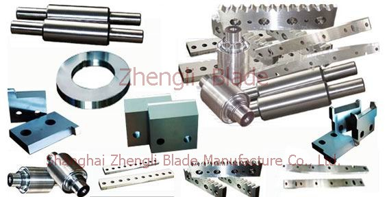 Manchester Picture Shearing silicon steel sheet cutter, blade shearing silicon steel sheet, tungsten steel blade